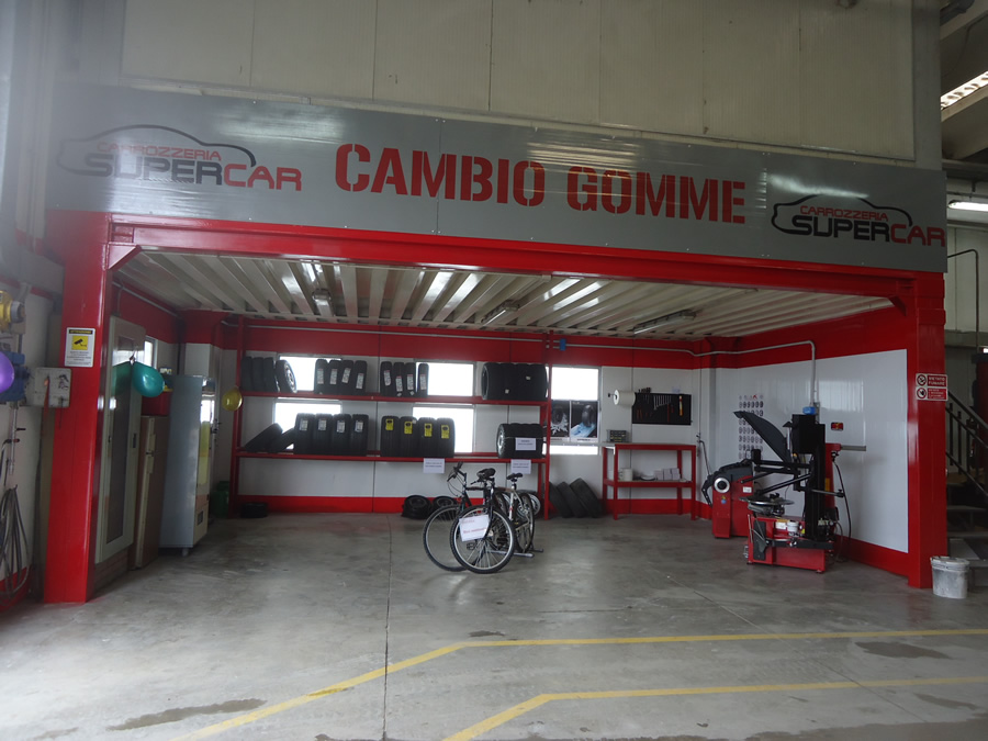 Area Cambio Gomme