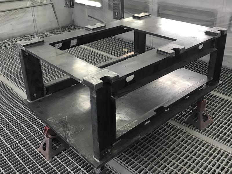 Verniciatura elementi in metallo